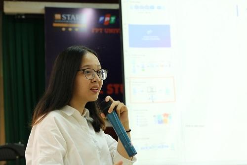 Đàm Thị Thiên Nhi mong muốn công nghệ blockchain sẽ giúp các tác giả bảo vệ được sản phẩm sáng tạo của mình.