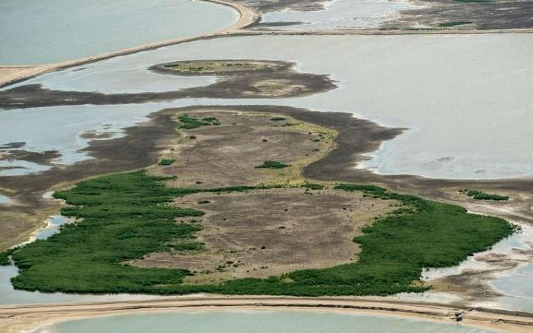 Hy vọng quần đảo nhân tạo mới gồm năm hòn đảo này sẽ mang thiên nhiên trở lại khu vực.