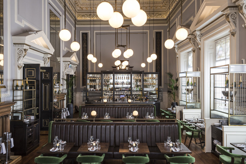 Glamorous Bar Restaurant By Owners James Louise Rusk In 2014 When They Took On The Ambitious Task Of Transforming One Glasgows Oldest And