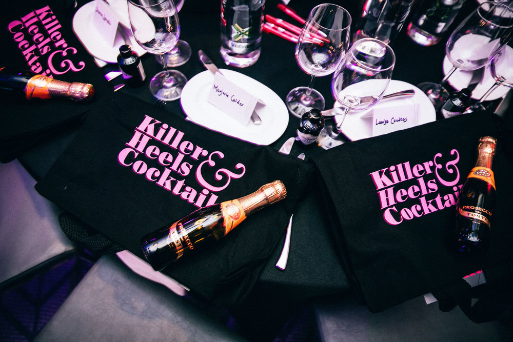 rusk & rusk oversaw the rebrand of killer heels & cocktails; glasgow's most glamorous ladies fundraiser. Taking control of the event operations, rusk & rusk delivered robust support for the event which ultimately raised a staggering £79,000 for action medical research.