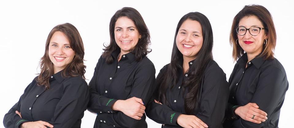 Jimena Cabello-Salazar, Lia Becvar, Stephanie Vazquez and Yadira Garcia