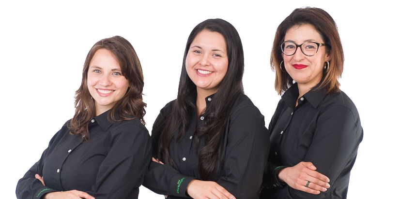 Jimena Cabello-Salazar,Stephanie Vazquez and Yadira Garcia