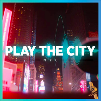 PLAY THE CITY |The Recording Academy |TBWA\Chiat\Day LAOutdoor | Immersive Experiences -