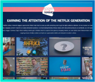 APPIE TODAY | albert heijn |tbwa\nebokomedia | Use of Brand or Product Integration into a Program or Platform -