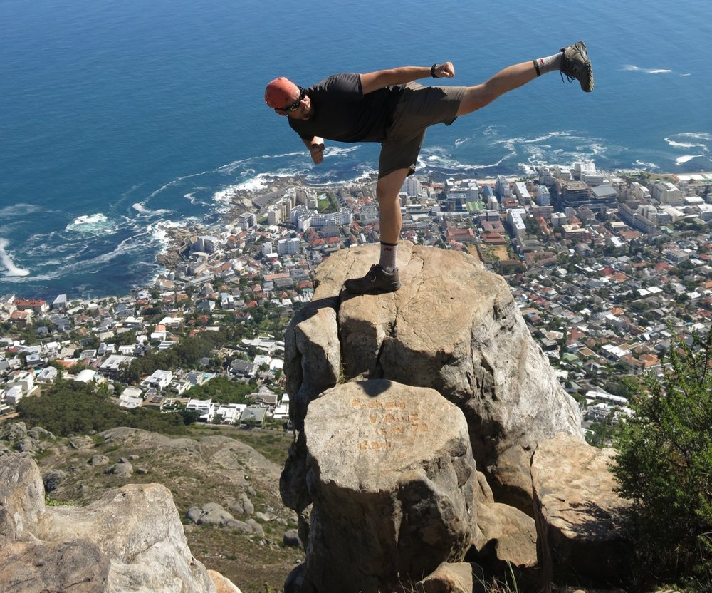 Above Cape Town, South Africa (Sensei Boyd)