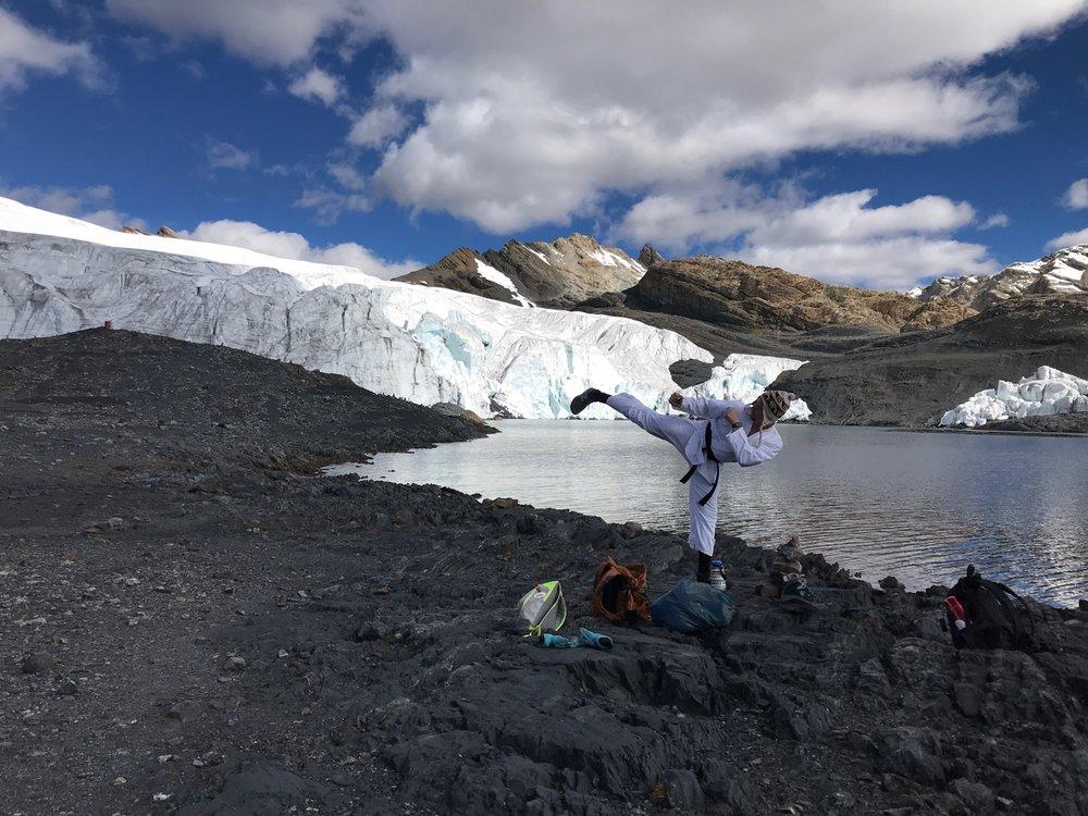 Pastouri Glacier, Peru (Sensei Boyd)