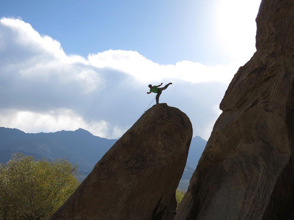 Julley Boulder, Ladakh (Sensei Boyd)