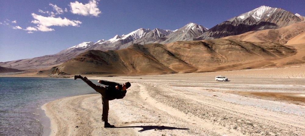 Pangong Lake, Ladakh (Sensei Boyd)
