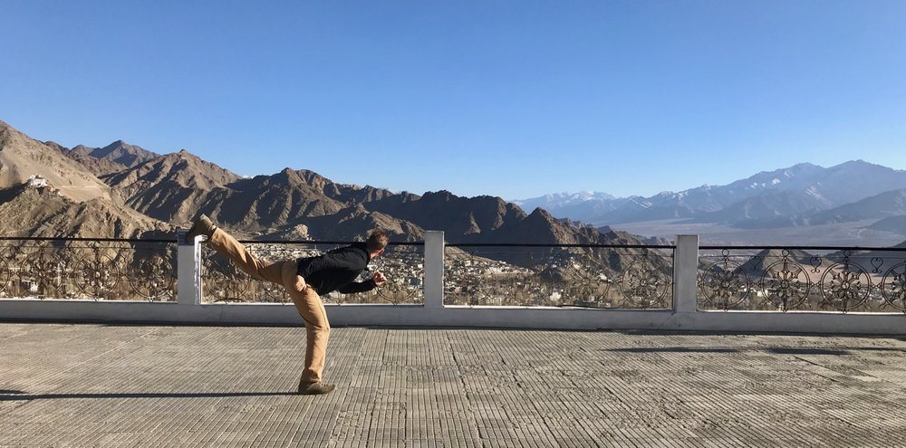 Shanti Stupa, Ladakh (Sensei Boyd)