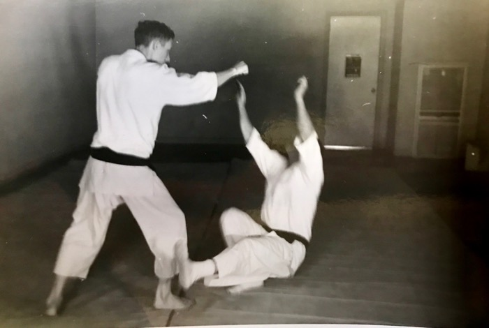 Mr. Mumpower's Charlotte, NC Dojo (1960)