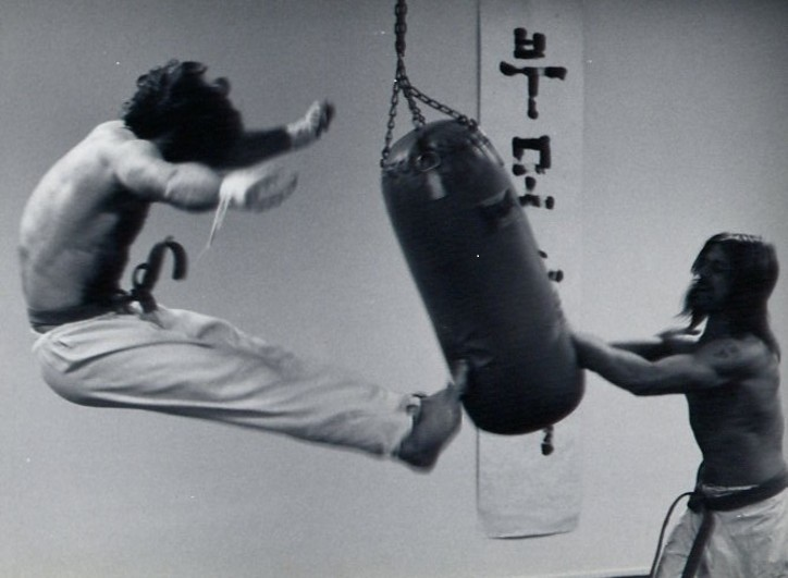 Jon Wiedenman Training in 1976