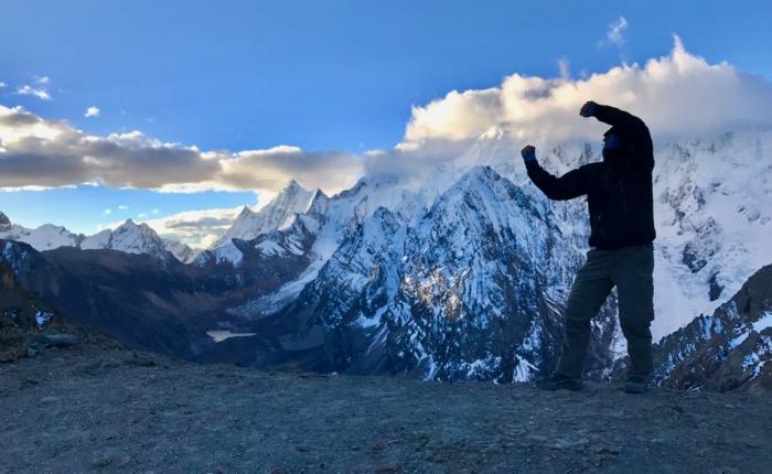 Santa Rosa Pass, Peru (16,661 ft.)