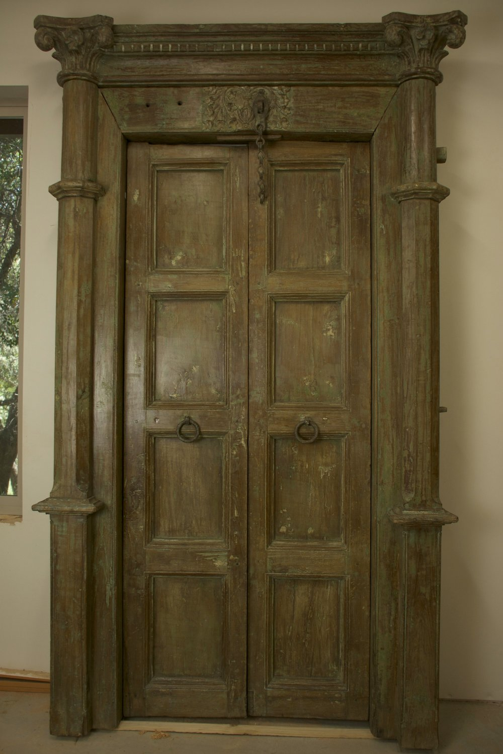 Greek Columns Door