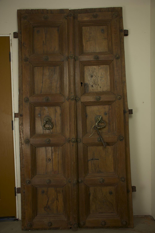Two Peacocks Door