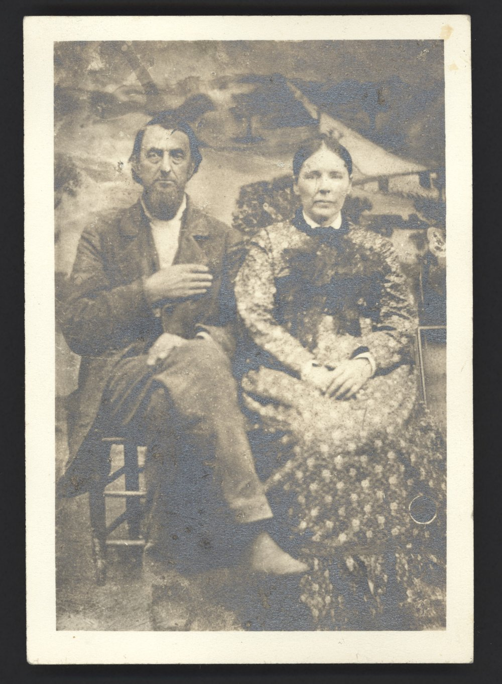 James R. & Susan Cooper Lomax, John's grandparents moved the family from MIssissippi to Texas in 1867