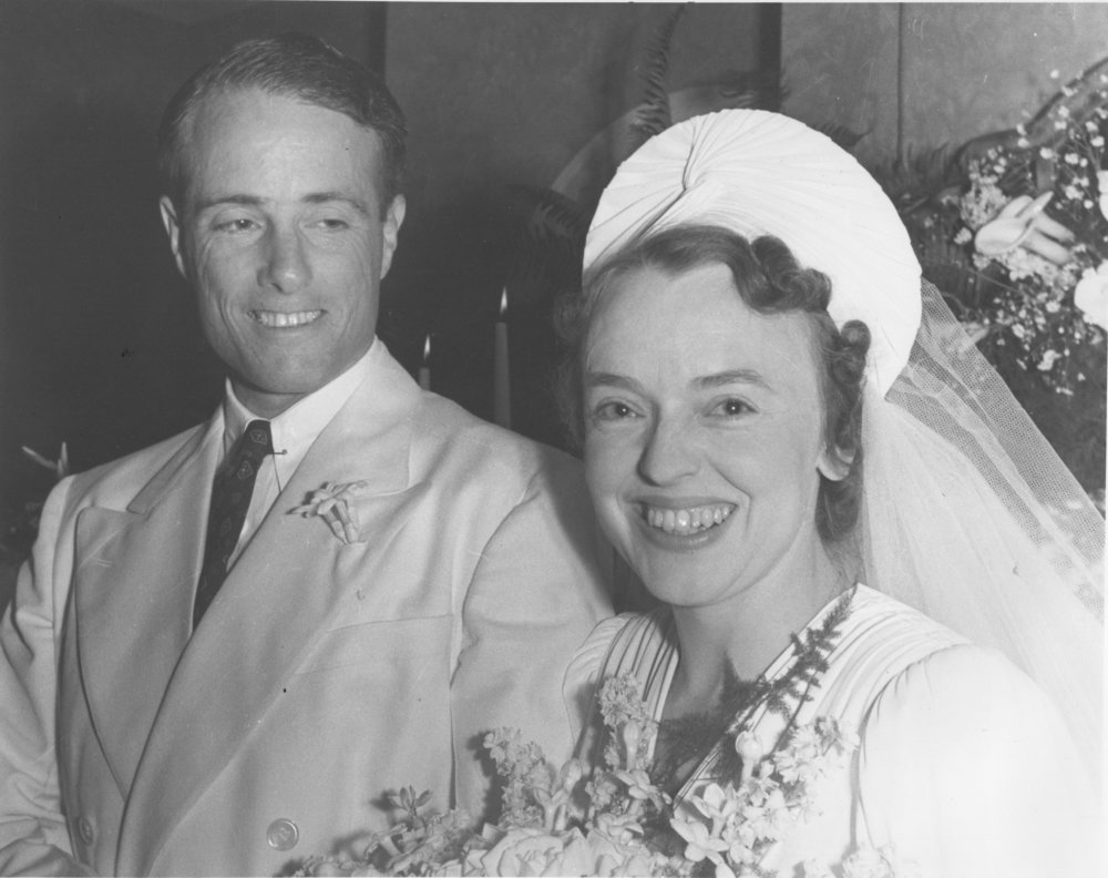 John and Margaret on their wedding day, May 7, 1941.