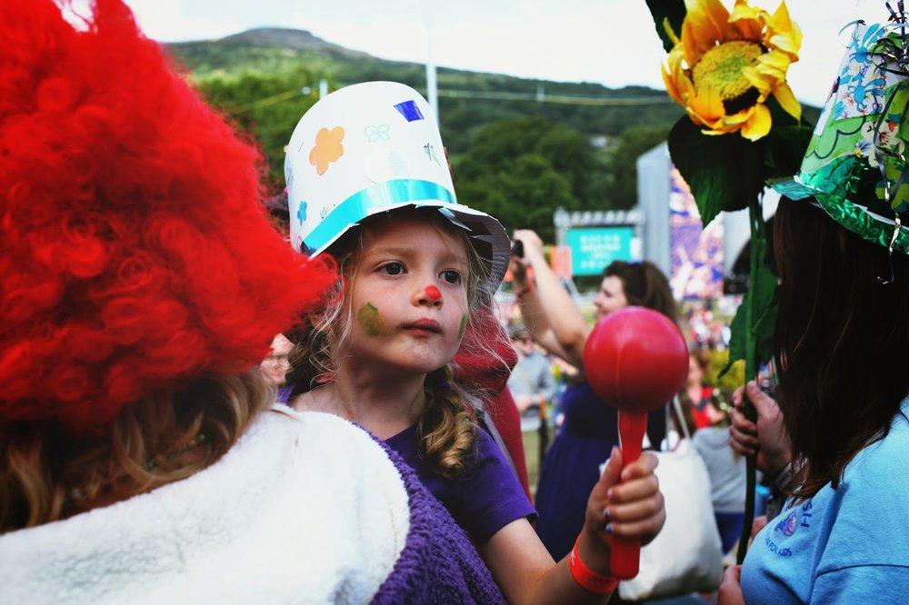 greenman festival 2014 kids field kids parade wales