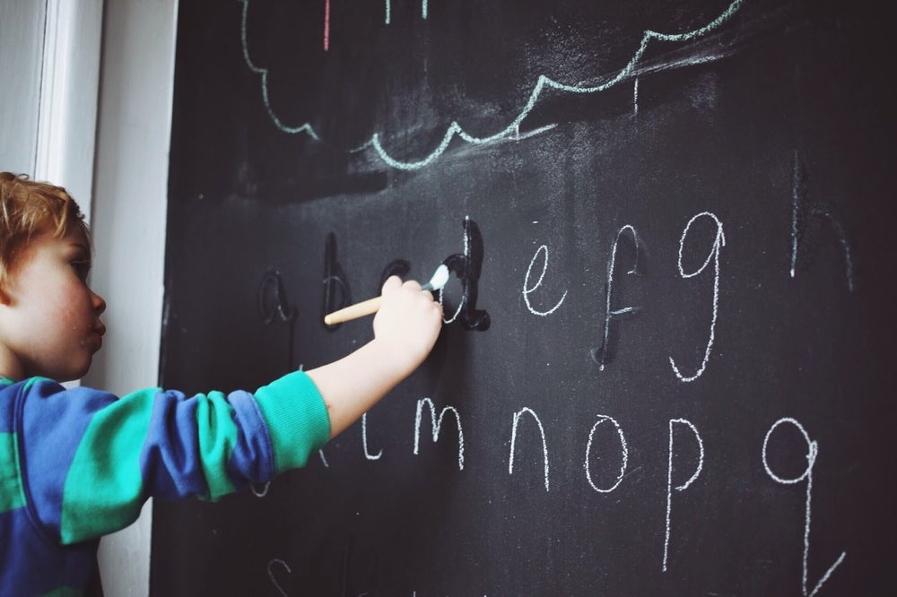 montessori at home lower case alphabet