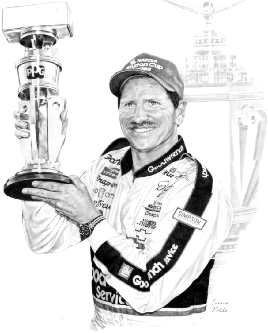 dale Earnhardt - GraphiteProperty of the Indianapolis Motor SpeedwayHall of Fame Museum