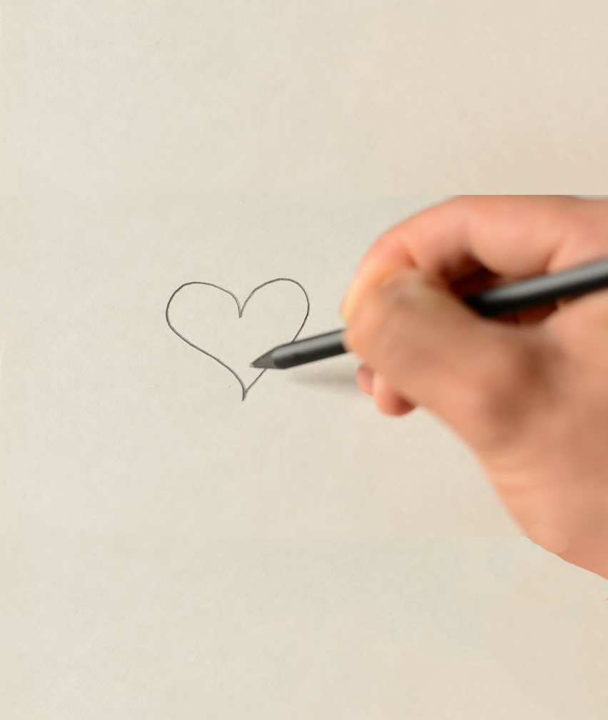 Heart & Pencil with Hand-Bible-Camp-Brentwood-church-of-Christ