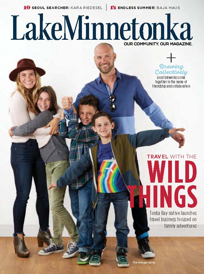 Lake Minnetonka Magazine - October 2017 - Patrick Nelson and Mary Kay Mohs are not only husband and wife but business partners and artistic collaborators, too. Together, they created Patrick Mohs Jewelry, a collection of stunning and unique pieces inspired by the couple's love of precious metals, gemstones and nature. Nelson and Mohs think of each piece as its own wearable work of art, and they bring each one to life at their home studio by Gray's Bay...(page 26)