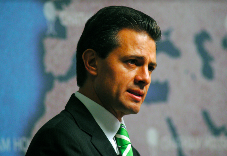 Current Mexican President Enrique Peña Nieto