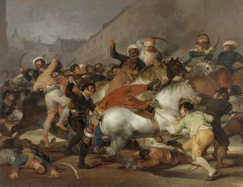 Francisco Goya, Second of May 1808 (1814)