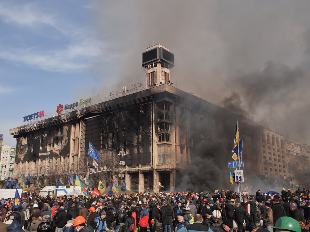 Ukraine protests in 2014
