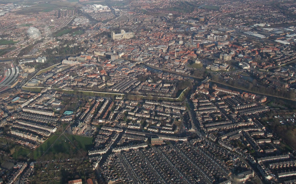 The Golden Triangle, an area in Yorkshire, where affluent and poor neighbourhoods converge.