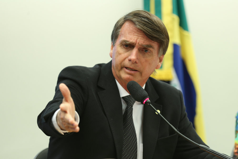 Jair Bolsonaro in 2016
