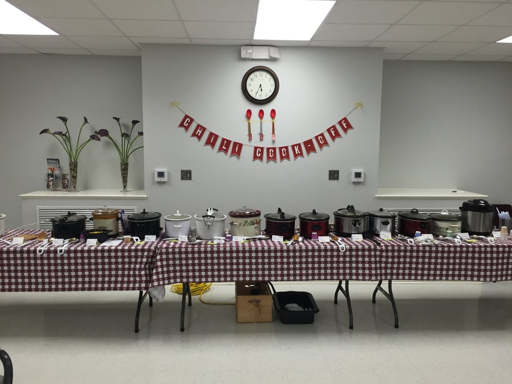 Annual Chili Cookoff -