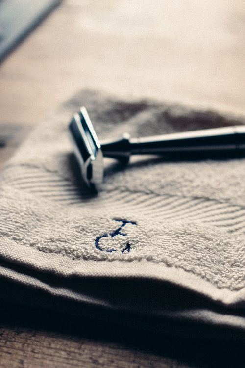 Double edge shaving from Thomas Clipper