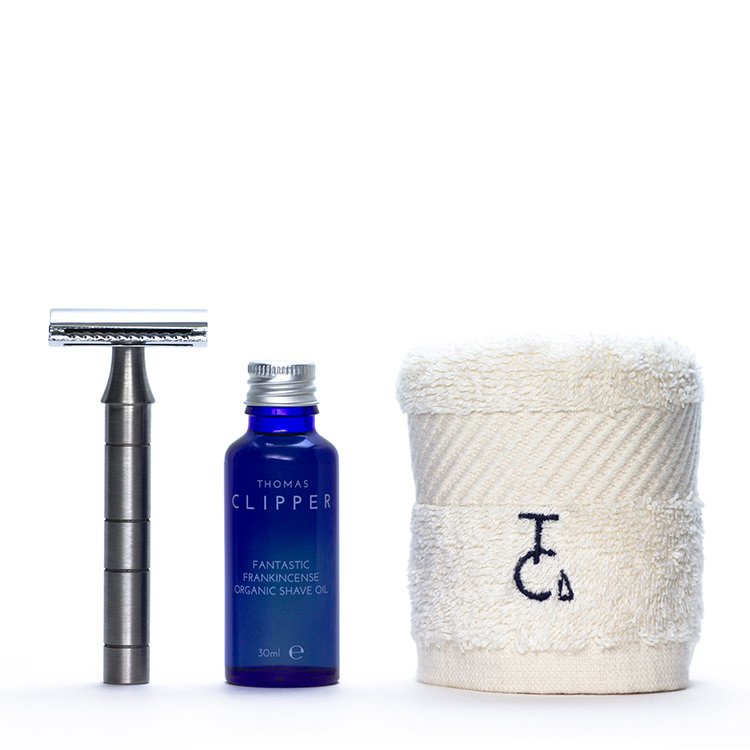 Mark One Purist classic shave set by Thomas Clipper