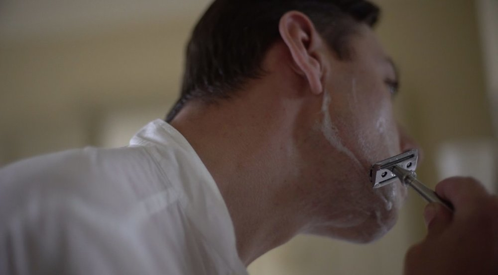 Enzo Cilenti enjoys the perfect shave with Thomas Clipper and their premium cologne collection Unite