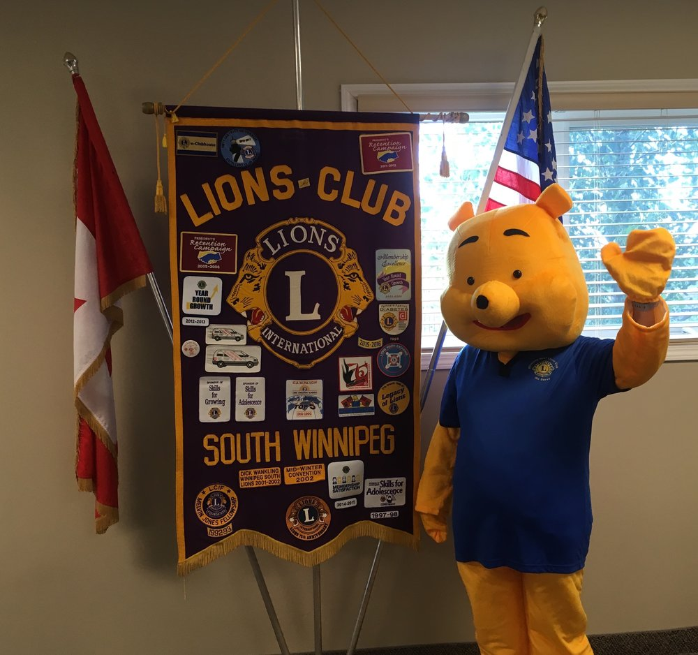 Winnie the Pooh stopped by the 2018 MD5M Convention meeting on June 20th to check out how the planning was going...