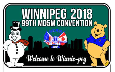 There is still time to register for the convention and pick up your 2018 convention pin in Winnie - Peg....