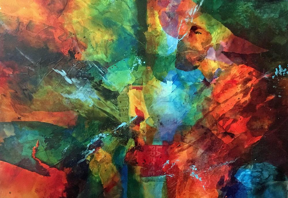 """""""We didn't start the fire"""" by Sue Allen"""