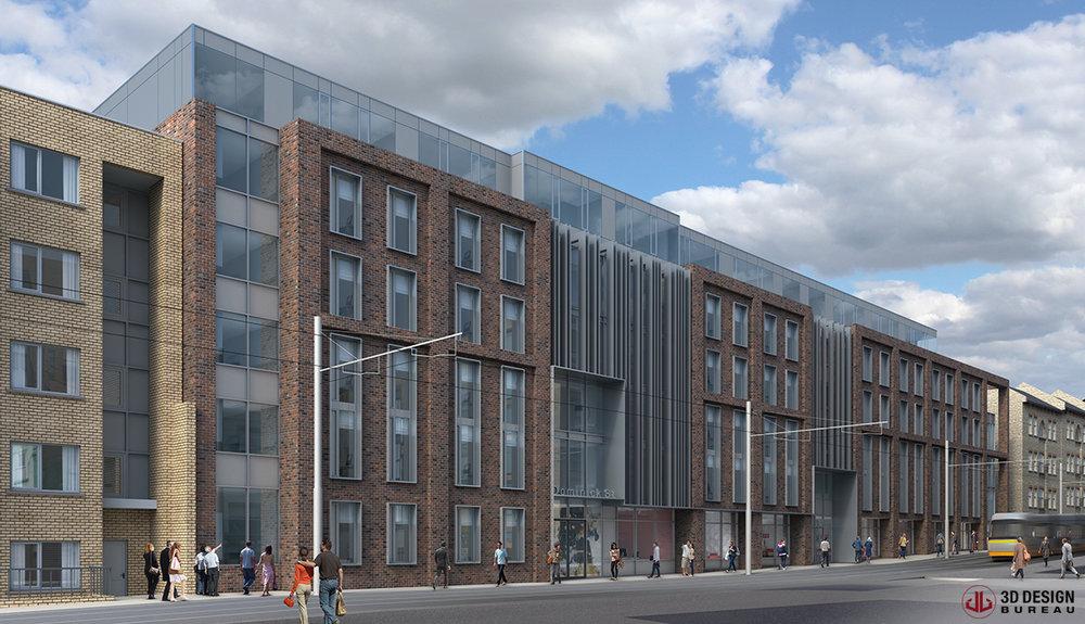 DOMINICK STREET STUDENT HOUSING, DUBLIN 1 -