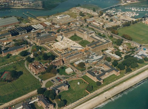 ROYAL HASLAR, GOSPORT, UK