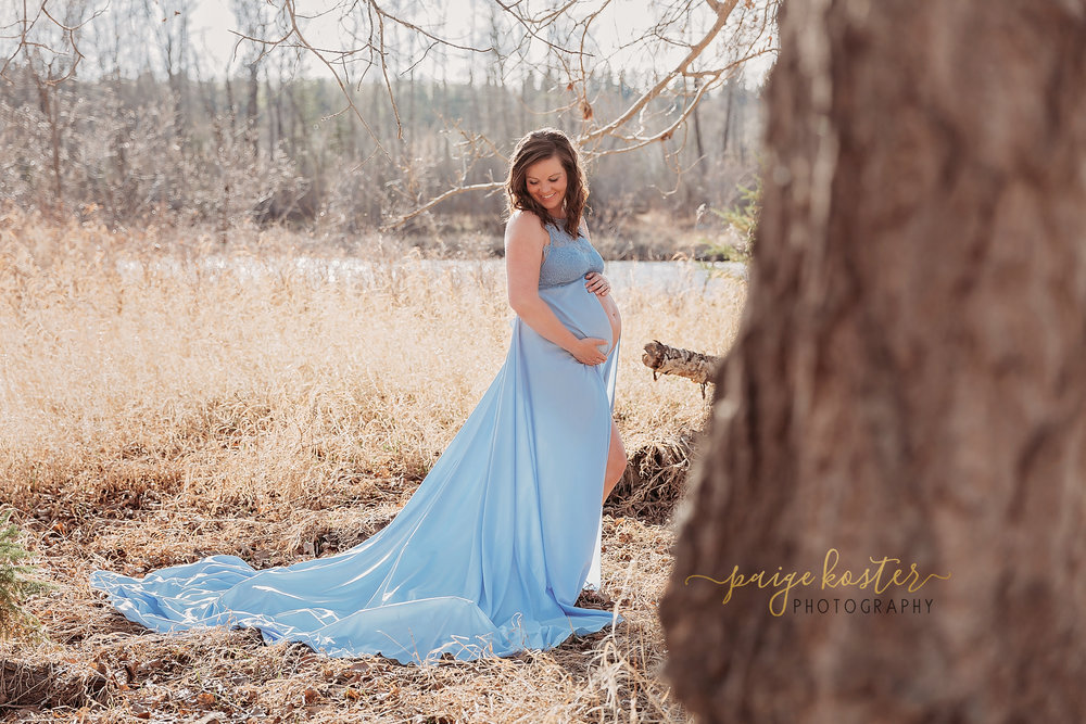 Maternity Portraits   • 30 Minute session Outdoors or in studio • Includes Family/Siblings • Use of Maternity Gowns • 10 Digital Images  Only $135 when booked with a newborn Session    Price: $350
