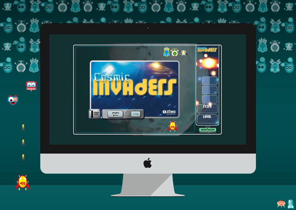 Retro game design - UI Design for a Java based retro game for kids