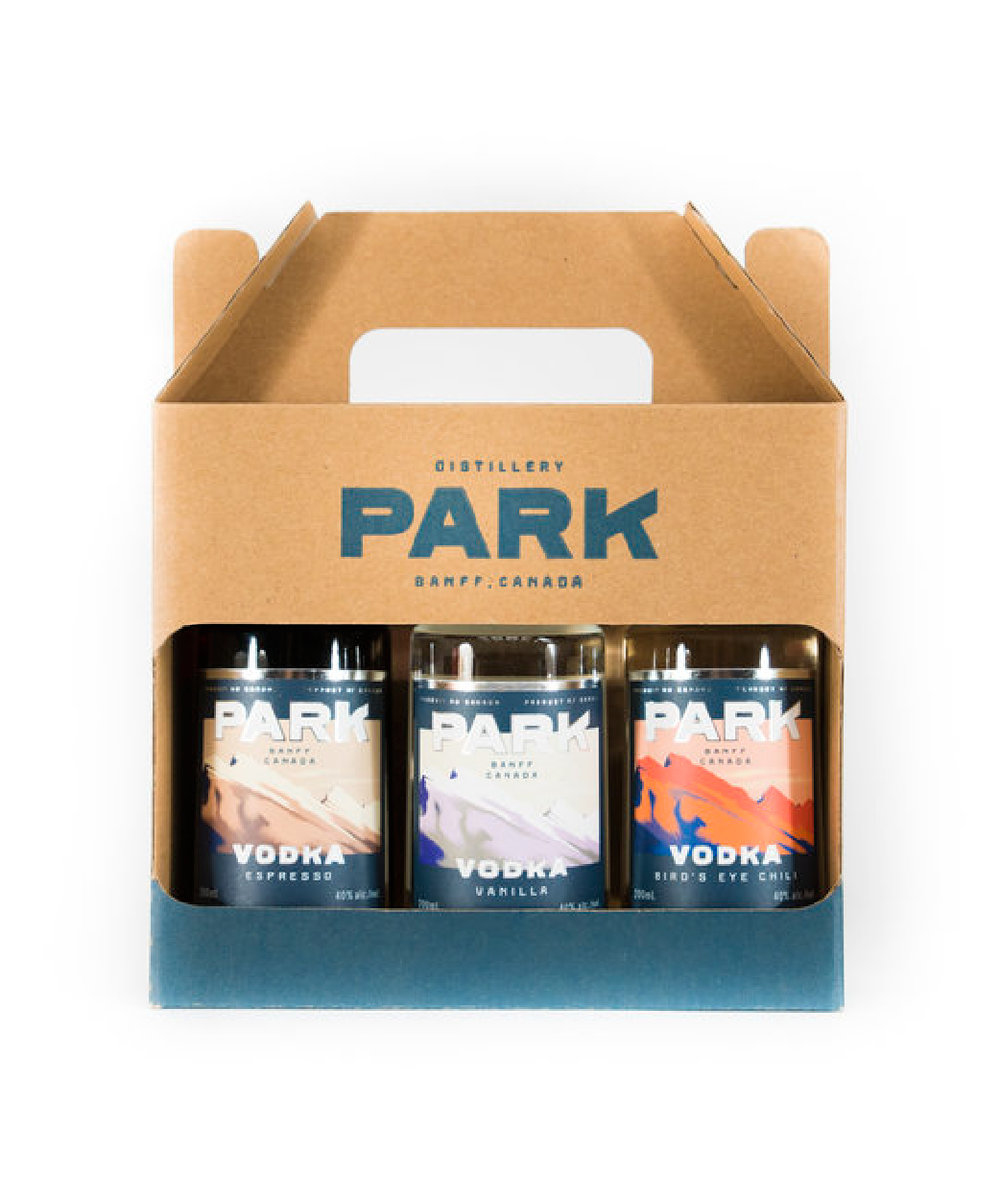 Park Flavoured Spirits Mixed Pony Pack