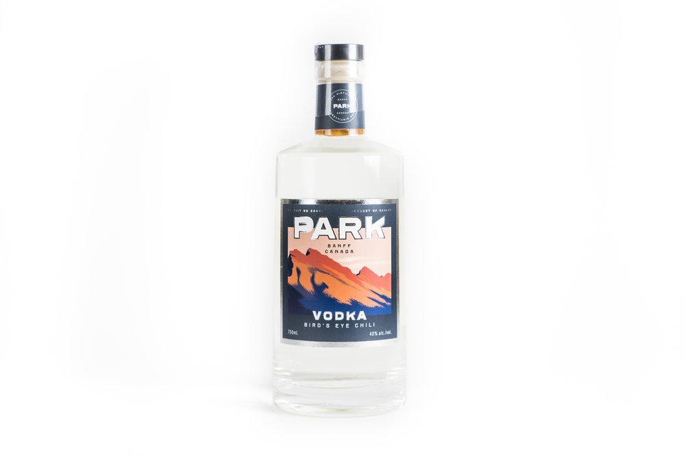 Park Distillery + Restaurant + Bar  Park Bird's Eye Chili Vodka