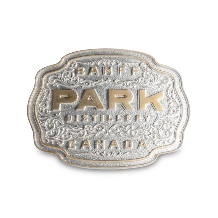 Park Distillery + Restaurant + Bar  Belt Buckle