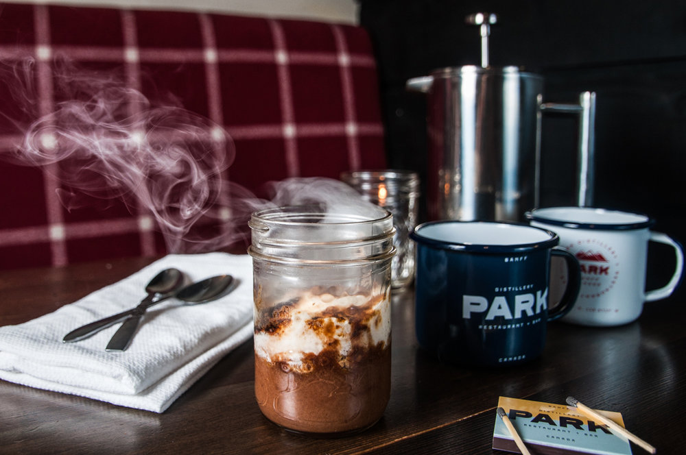 Park Distillery restaurant & bar 's'more'