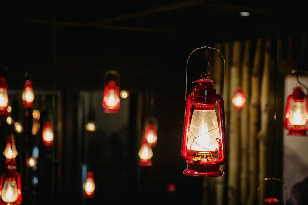 Park Distillery Restaurant & Bar 'lanterns'