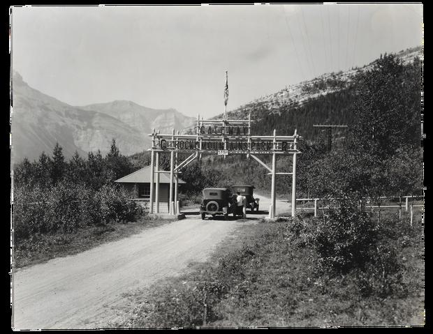 Banff National Park East Gate