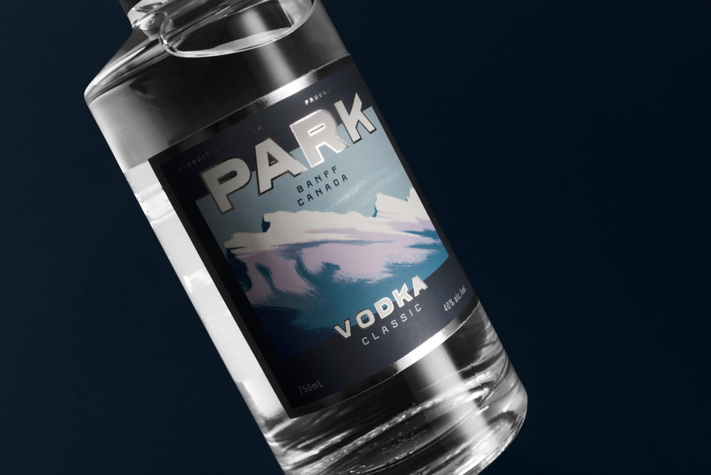 Park Distillery hand made spirits classic vodka