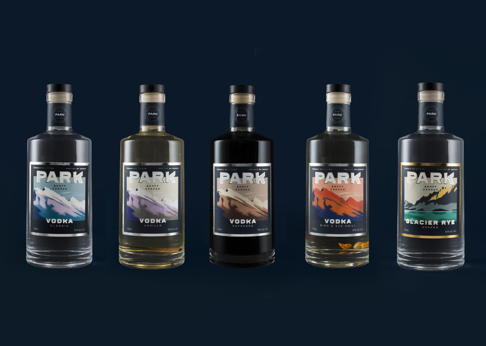 Park Distillery hand made spirits