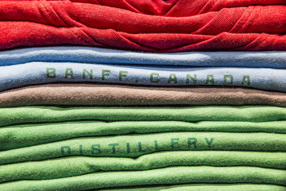 Park Distillery Hand made spirits & camping wear Banff National Park